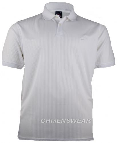 Mesh Polo Shirt WHITE